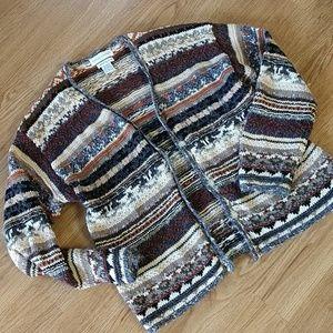 Casual Corner Hand Knit Sweater